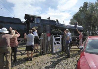 Walkers & train